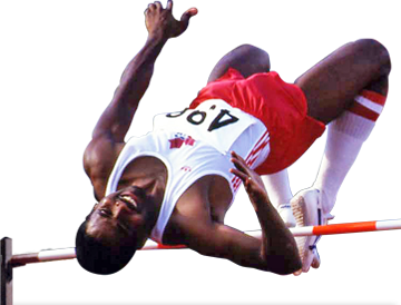Milt_Ottey, 3 time Canadian Olympian High Jumper - Number One Ranked High Jumper in the world in 1982 - Over The Top Fitness; Its About The Kids